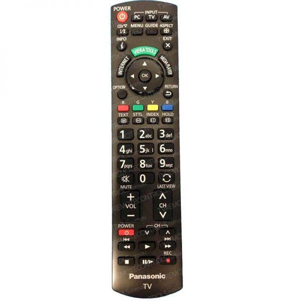 PANASONIC N2QAYB000748 TV Remote Control