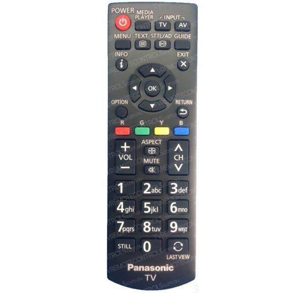 PANASONIC N2QAYB000976 TV Remote Control