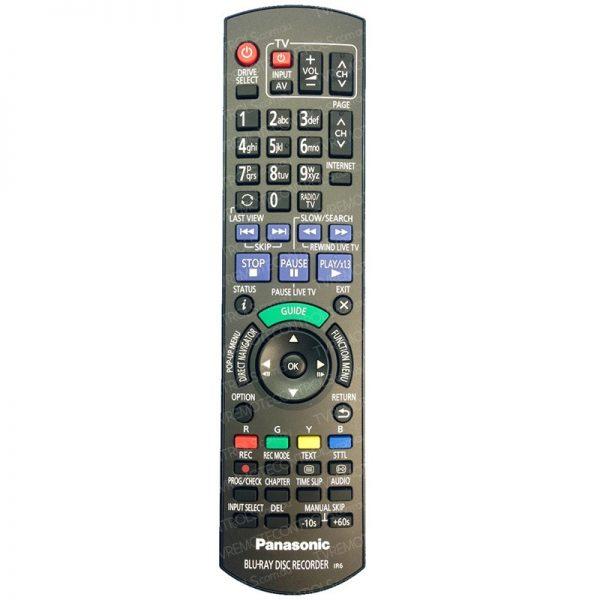 PANASONIC N2QAYB000977 Blu-ray Recorder Remote Control