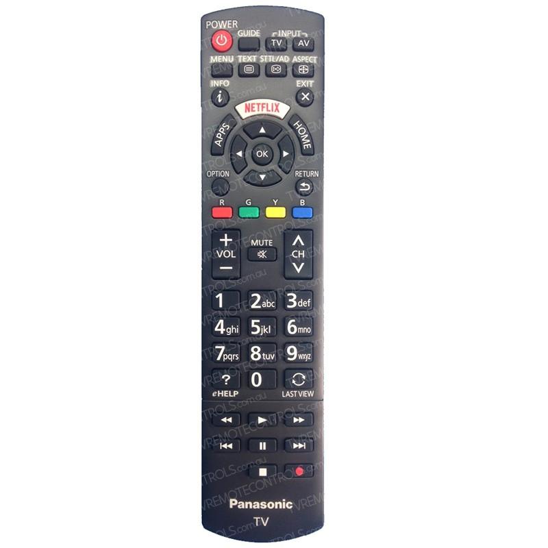 PANASONIC N2QAYB001008 TV Remote Control