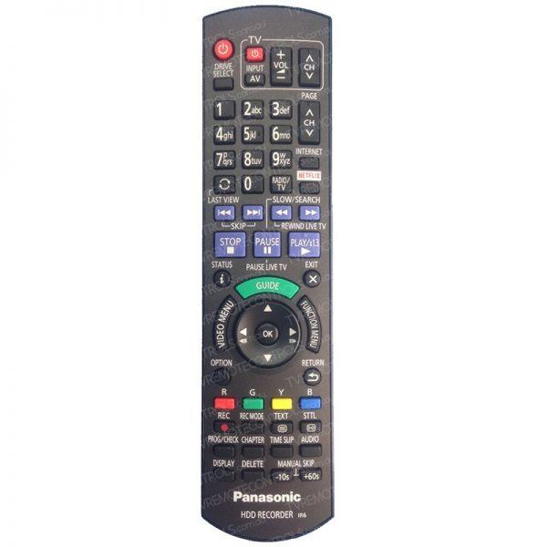 PANASONIC N2QAYB001042 Remote Control