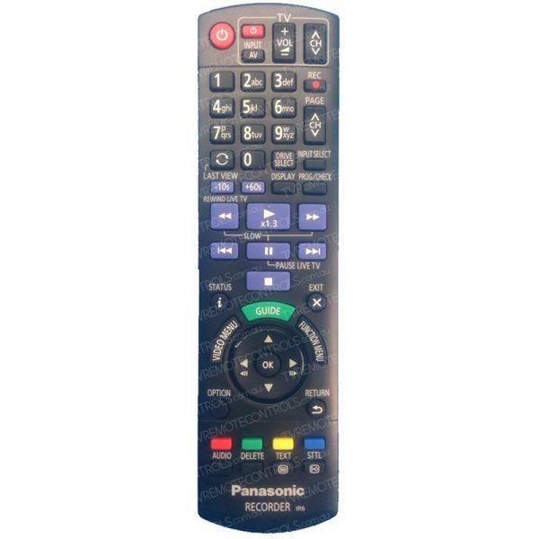 PANASONIC N2QAYB001078 Tuner Remote Control