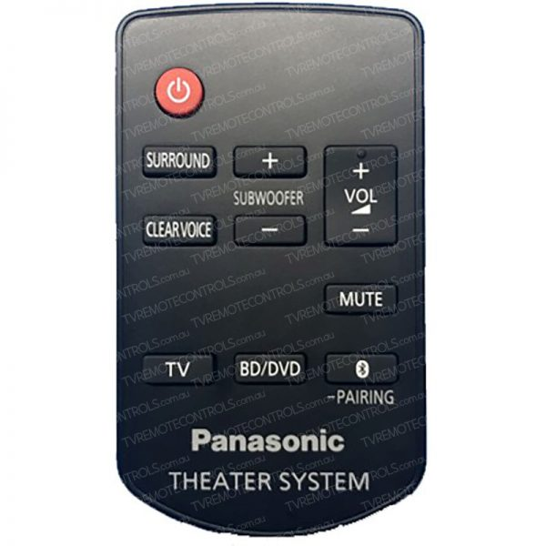 PANASONIC N2QAYC000103 HOME THEATRE Remote Control