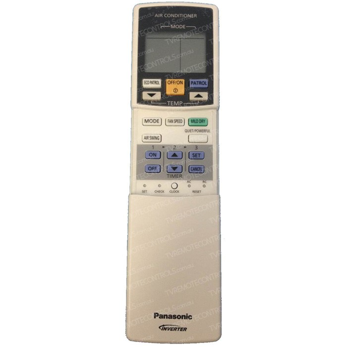 The A75C3660-1 remote control is and a the substitute PANASONIC remote control f